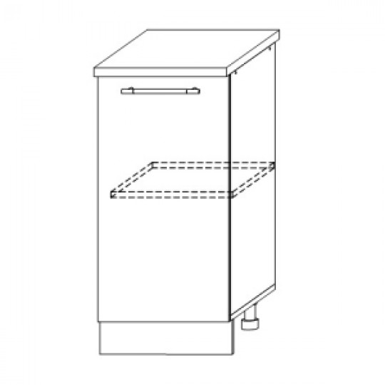 Гренада шкаф нижний 450 | ШН 450