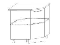 Гренада шкаф нижний угловой 850x850 | ШНУ 850*850