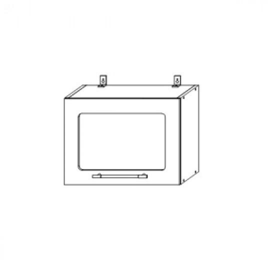 Гренада шкаф верхний горизонтальный со стеклом 500  ШВГС 500