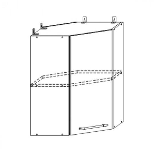Гренада шкаф верхний угловой 550x550 | ШВУ 550*550
