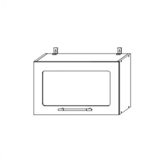 Гренада шкаф верхний горизонтальный со стеклом 600  ШВГС 600