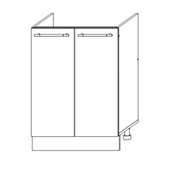 Гренада шкаф нижний под мойку 600   ШНМ 600