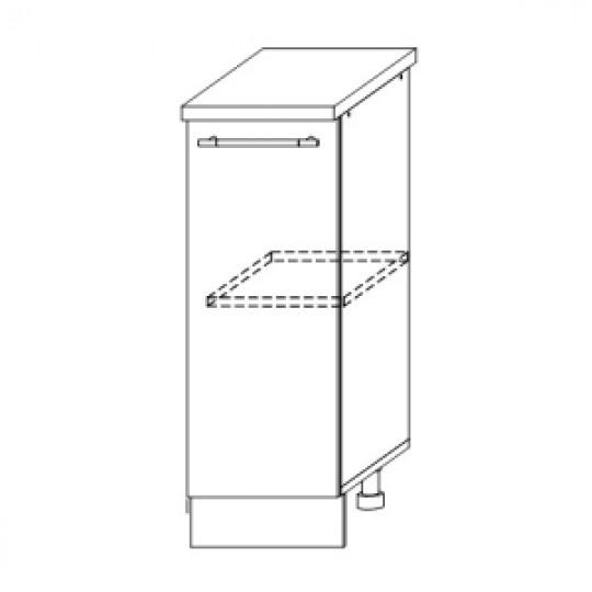 Гренада шкаф нижний 300 | ШН 300