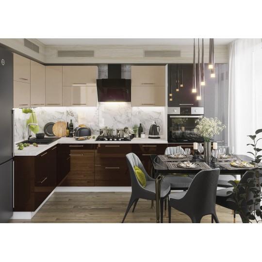 Кухня Олива глянец