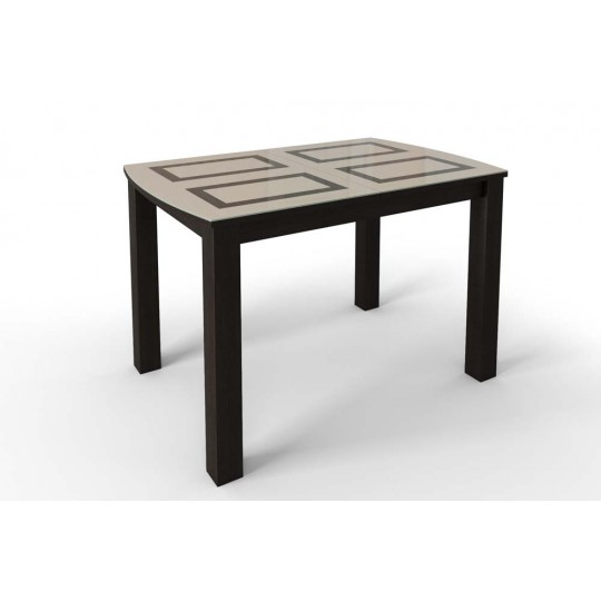 Стол раздвижной Ритм стекло