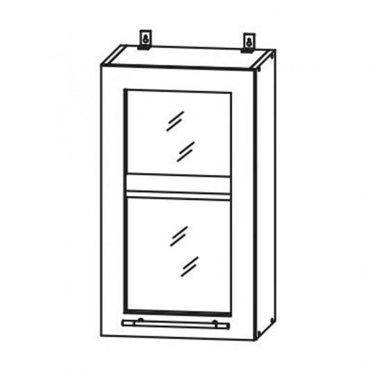 Гренада шкаф верхний со стеклом 500 | ШВС 500