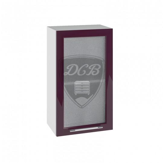 Капля шкаф навесной высокий со стеклом 400 | ВПС400