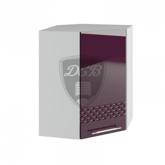 Капля шкаф навесной высокий угловой 550х550 | ВПУ550