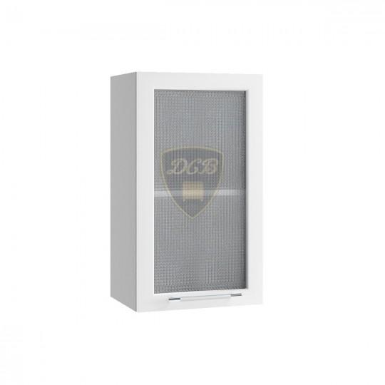 Капля шкаф навесной со стеклом 400 | ПС400