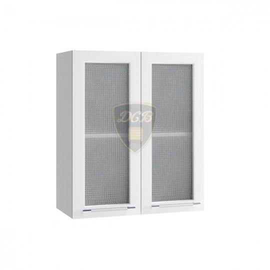 Капля шкаф навесной высокий со стеклом на 600 | ВПС600