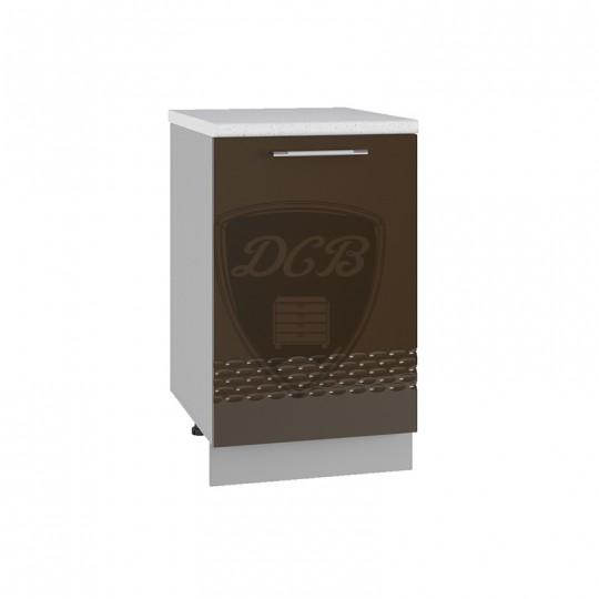 Капля шкаф нижний на 600 (1 дверь)   С601