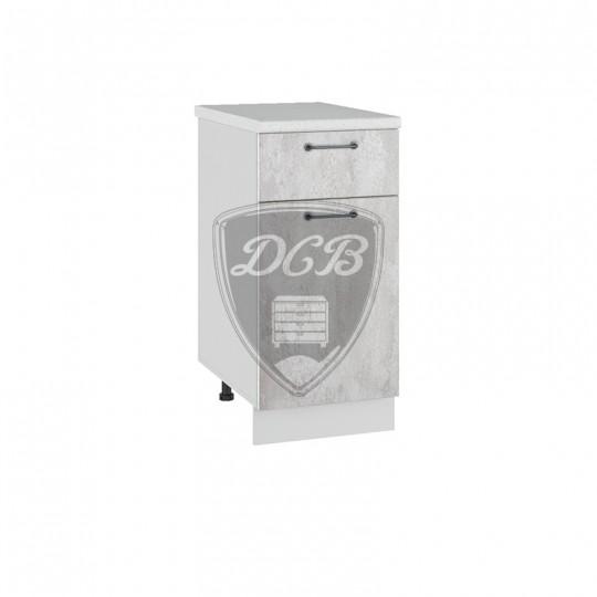 Лофт шкаф нижний с ящиком на 400 | С 1Я400