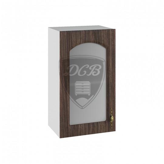 Монако шкаф навесной со стеклом 400   ПС400