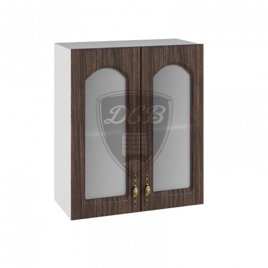 Монако шкаф навесной высокий со стеклом 600   ВПС600