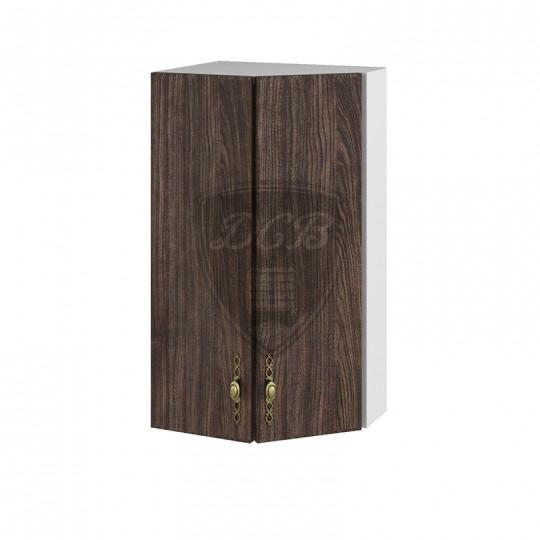 Монако шкаф навесной высокий торцевой угловой на 400   ВПТ400