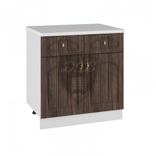 Монако шкаф нижний с 2 ящиками на 800   С2Я800