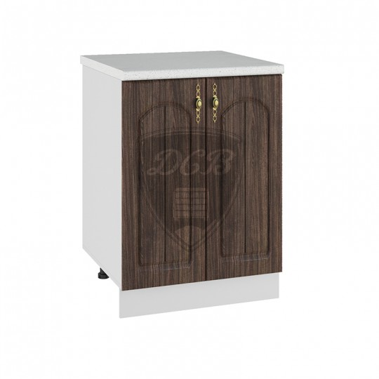 Монако шкаф нижний на 600 (2 двери)   С600