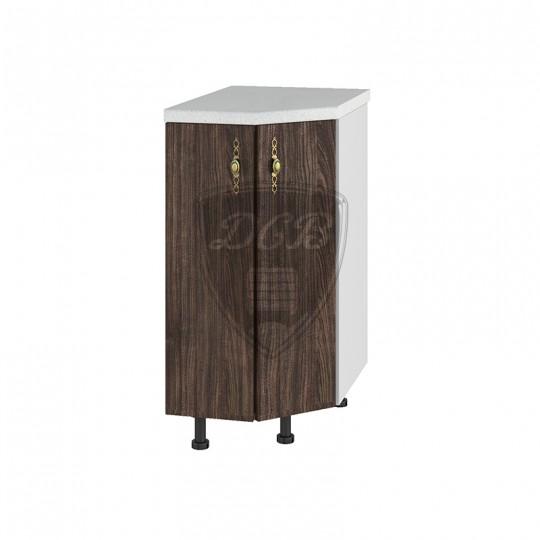 Монако шкаф нижний торцевой угловой на 400   СТ400