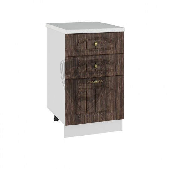 Монако шкаф нижний с ящиками на 500   СЯ500