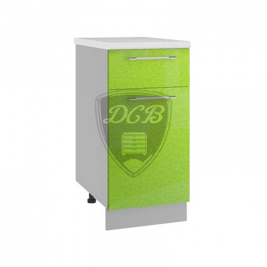Олива шкаф нижний с ящиком на 400   С1Я400