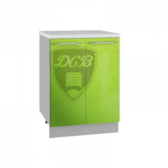 Олива шкаф нижний на 600 (2 двери)   С600