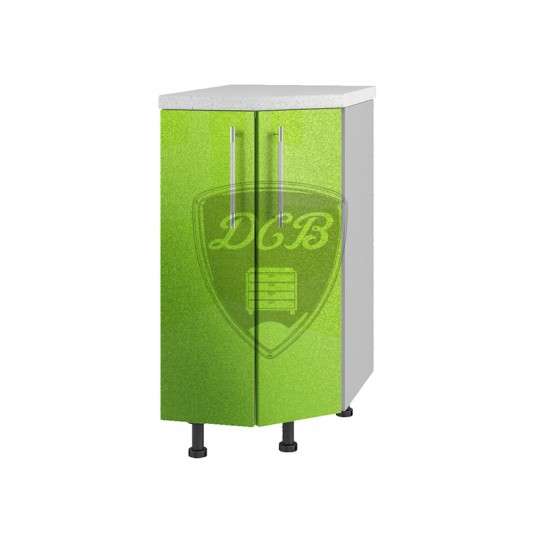 Олива шкаф нижний торцевой угловой на 400   СТ400